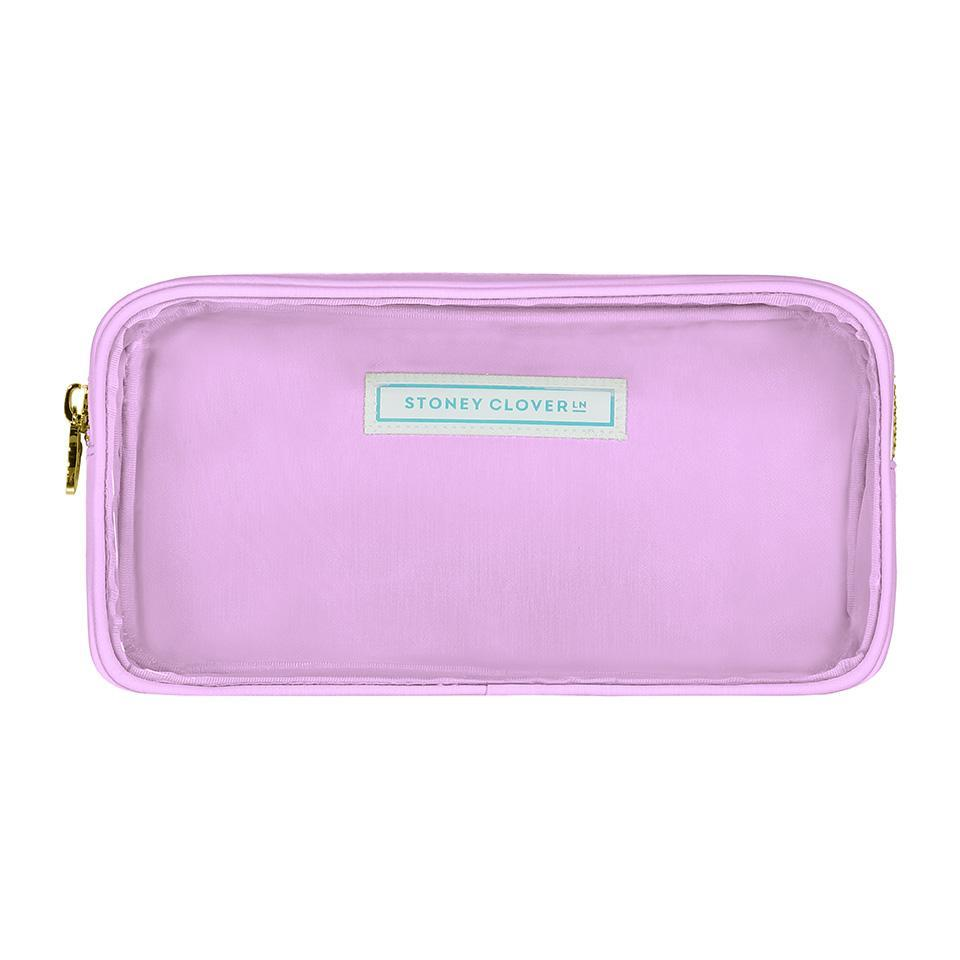 Classic Clear Small Pouch - Grape - Give Wink