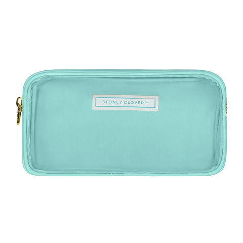 Classic Clear Small Pouch - Cotton Candy