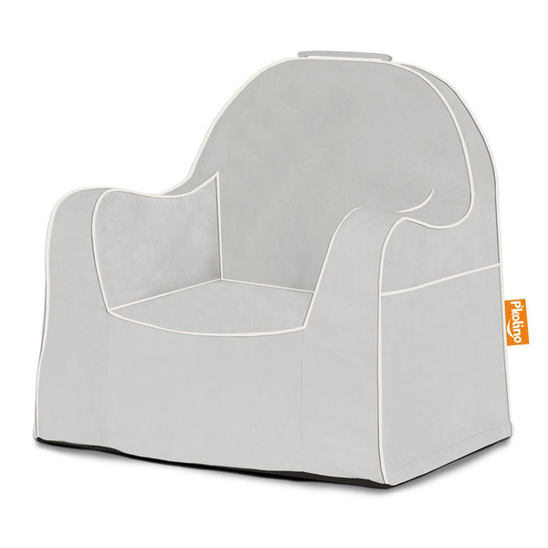 Little Reader Chair - P'kolino - Give Wink Miami Baby Store - Solid Grey