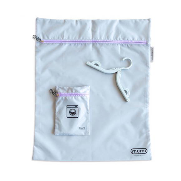 Travel Laundry Bag - Purple - Give Wink