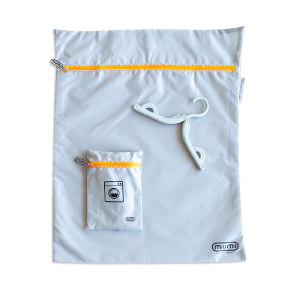 Travel Laundry Bag - Orange - Give Wink