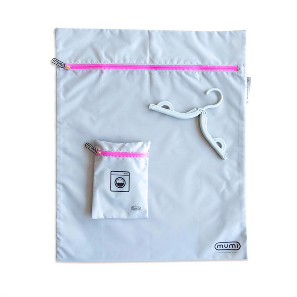 Travel Laundry Bag - Pink. Mumi. Miami Baby Store