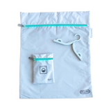 Travel Laundry Bag - Aqua - Give Wink