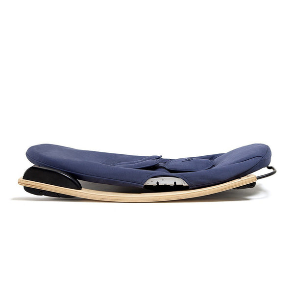 Coco go 3-in-1 Lounger with seat pad in organic cotton - Bloom - pc2