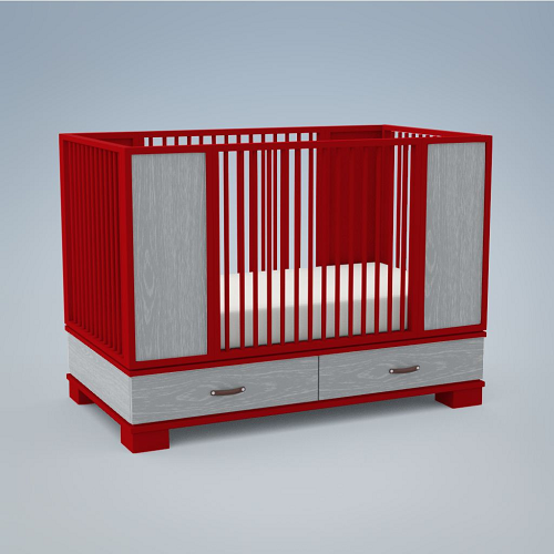 Morgan Crib - DucDuc - Give Wink Miami Baby Store pc3
