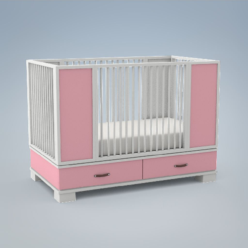 Morgan Crib - DucDuc - Give Wink Miami Baby Store pc4