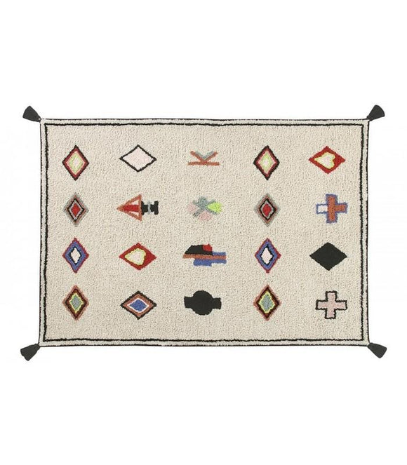 Washable Morocco Rug - Give Wink