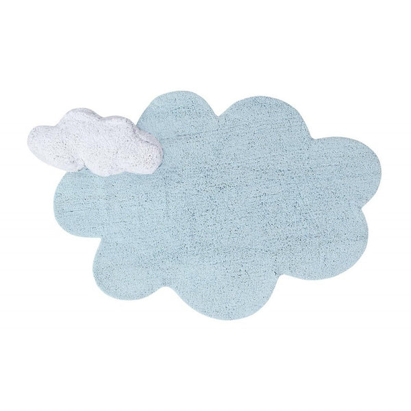 Lorena Canals Puffy Dream Blue Rug. Baby Decor Miami Baby Store  - pc1