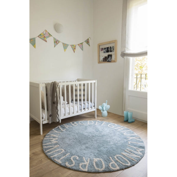 Round ABC Rug. Lorena Canals. Miami Baby Store. pc5