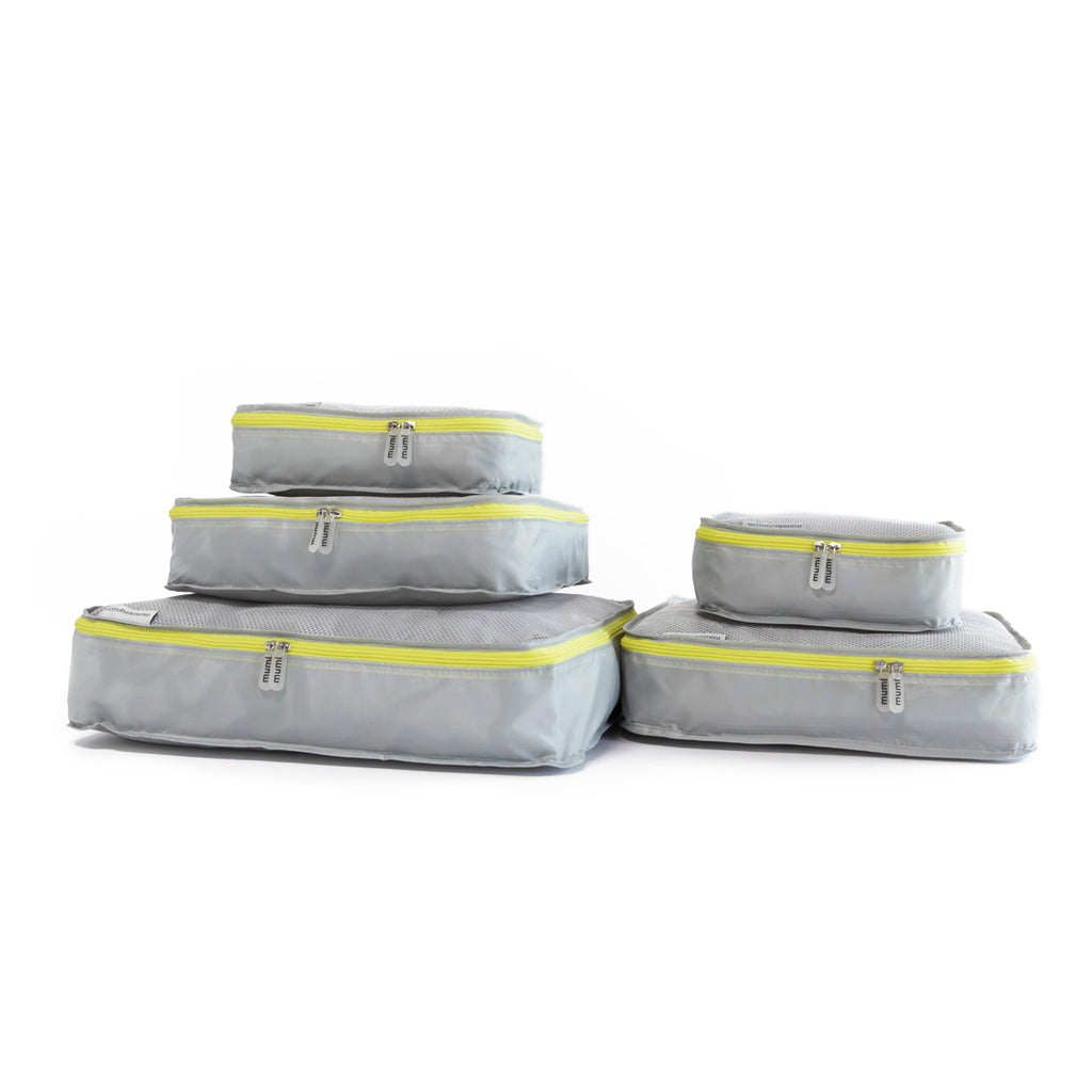 Packing Cubes S/5 - Yellow - Give Wink