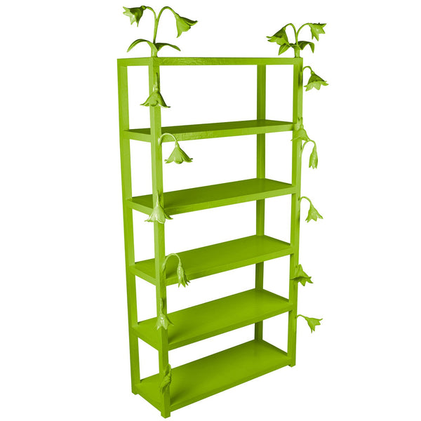 Snowdrop Shelving. Stray Dog Designs. Miami Baby Store. Green