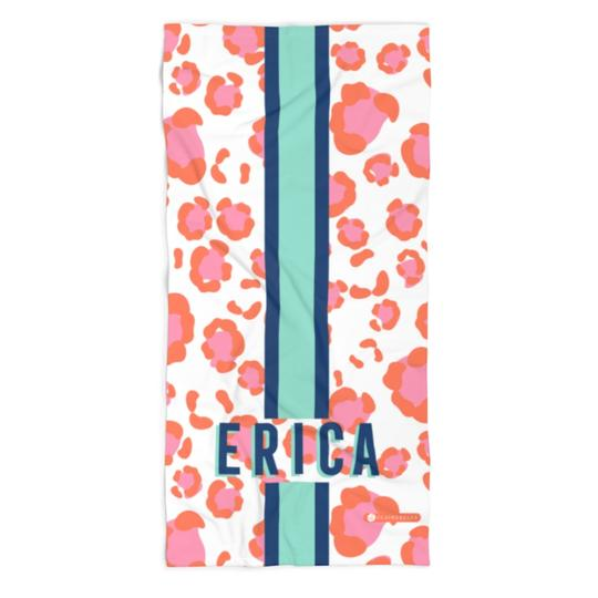 Leopard Spots Beach Towel - Give Wink