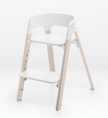 Stokke Steps High Chair. Gear Baby Give Wink Miami Baby Store. White/Whitewash