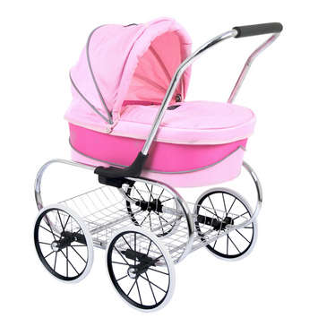 Princess Doll Stroller - Give Wink