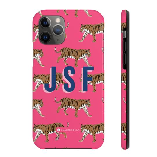 Tiger iPhone Tough Case 11 - Give Wink