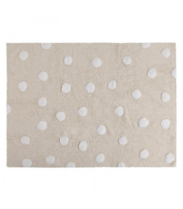 Polka Dots Washable Rug - Give Wink