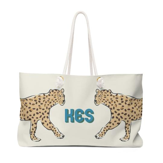 Leopard Travel Tote - Give Wink