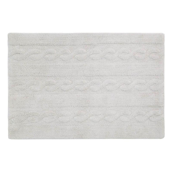Braids Washable Rug Large - Give Wink