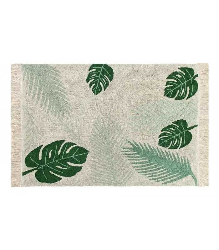 Tropical Washable Rug - Give Wink