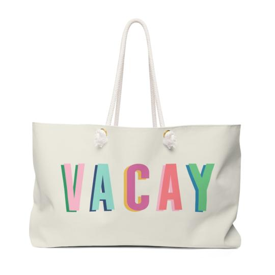 Vacay Travel Tote - Give Wink