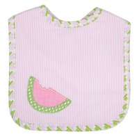 Watermelon Applique Bib