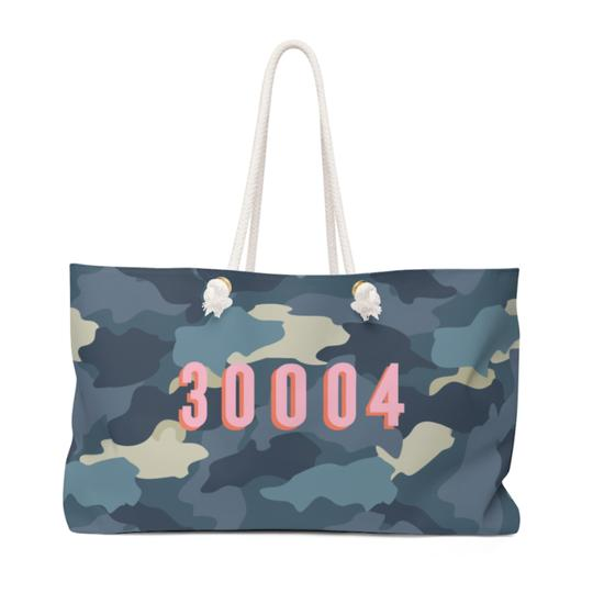 Camo Travel Tote - Give Wink