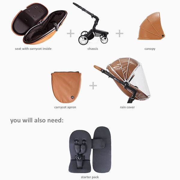 Xari Stroller - Mima - Give Wink Miami Baby Store - accessories