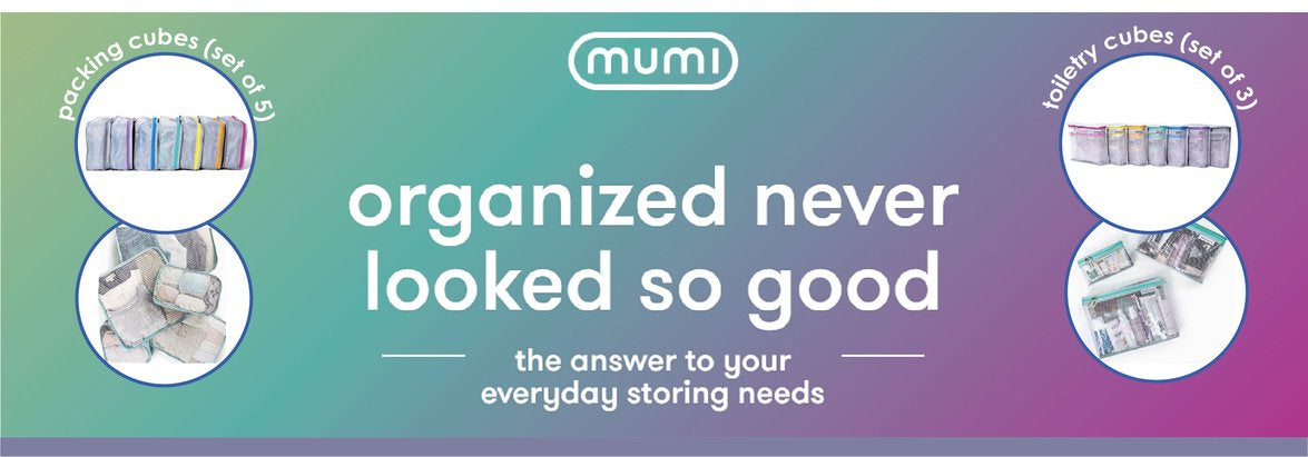 Mumi Travel Bags. Miami Baby Store