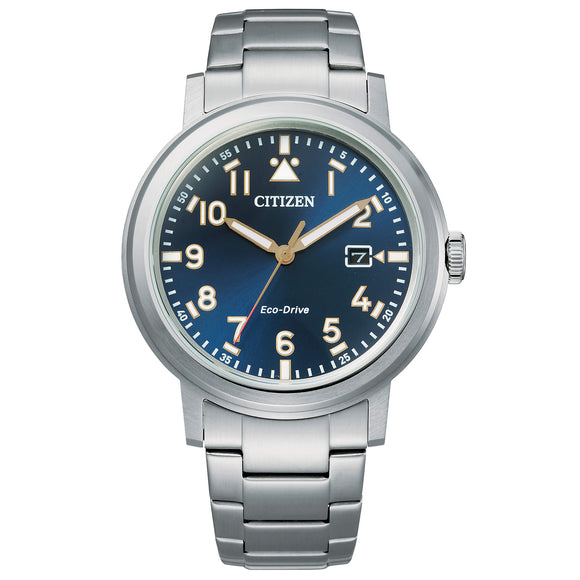 Orologio Uomo Citizen Military AW1620-81L