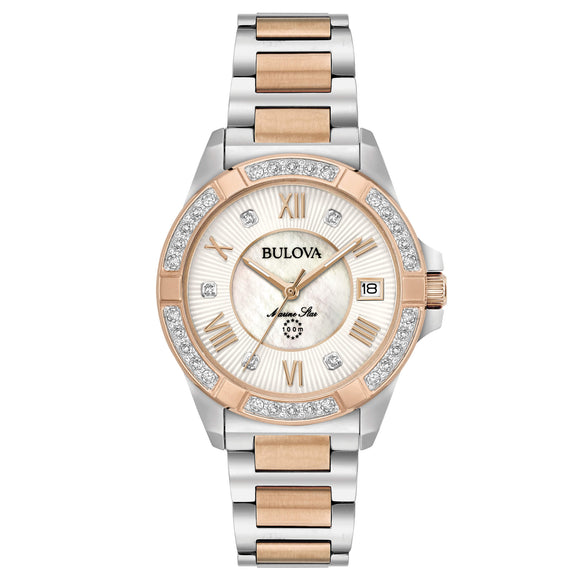 Orologio Donna Bulova Marine Star Diamonds 98R234