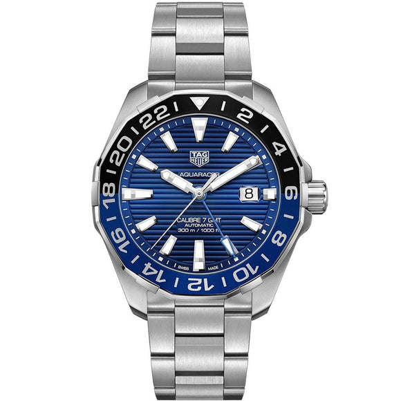 Orologio Tag Heuer Acquaracer Uomo WAY201T.BA0927 Batman Black and Blue