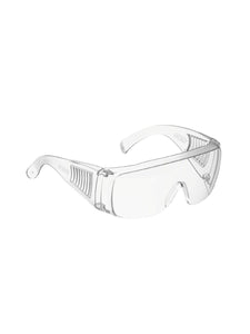 Color=transparent | Breathable Scratch Resistant Flat Mirror Protective Eyewear-Transparent 2