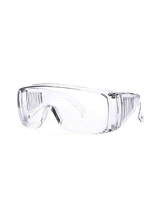 Color=transparent | Breathable Scratch Resistant Flat Mirror Protective Eyewear-Transparent 1