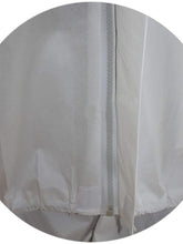 Load image into Gallery viewer, Color=White | Anti-Saliva Cheap Disposable Protective Coveralls With Attached Hood-White 3