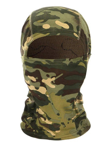 Color=Green | Warm Light Weight Riding Headwear Balaclava Protective Face Hat-Green 1