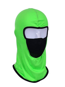 Color=Green | Protective Comfortable Windproof Full Face Hat-Green 1