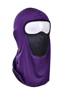 Color=Purple | Protective Comfortable Windproof Full Face Hat-Purple 1