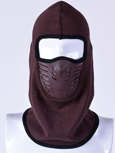 Color=Coffee | Adults' Outdoor Full Face Protective Balaclava Face Hat-Coffee 1