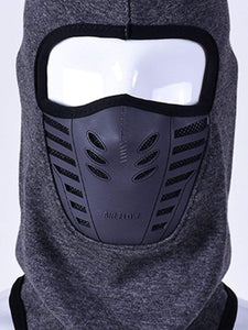 Color=Grey | Adults' Outdoor Full Face Protective Balaclava Face Hat-Grey 5