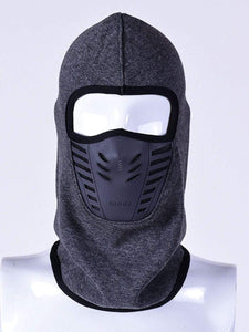 Color=Grey | Adults' Outdoor Full Face Protective Balaclava Face Hat-Grey 1
