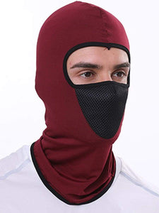 Color=Burgundy | Multifunctional Breathable Protective Full Face Hat-Burgundy 2