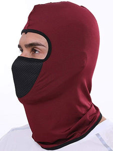 Color=Burgundy | Multifunctional Breathable Protective Full Face Hat-Burgundy 3