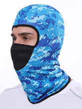 Load image into Gallery viewer, Color=Sky Blue | Multifunctional Breathable Protective Full Face Hat-Sky Blue 3