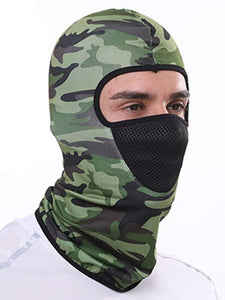 Color=Green | Multifunctional Breathable Protective Full Face Hat-Green 2