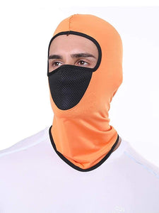 Color=Orange | Multifunctional Breathable Protective Full Face Hat-Orange 1