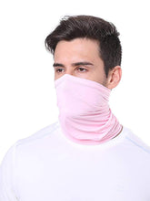Carica l'immagine nel visualizzatore di Gallery, Color=Pink | Comfort Adult Protective Neck Gaiter Running Face Shield For Going Out-Pink 1