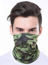 Carica l'immagine nel visualizzatore di Gallery, Color=Dark Green | Half Balaclava Bandana Neck Gaiters For Adults-Dark Green 1