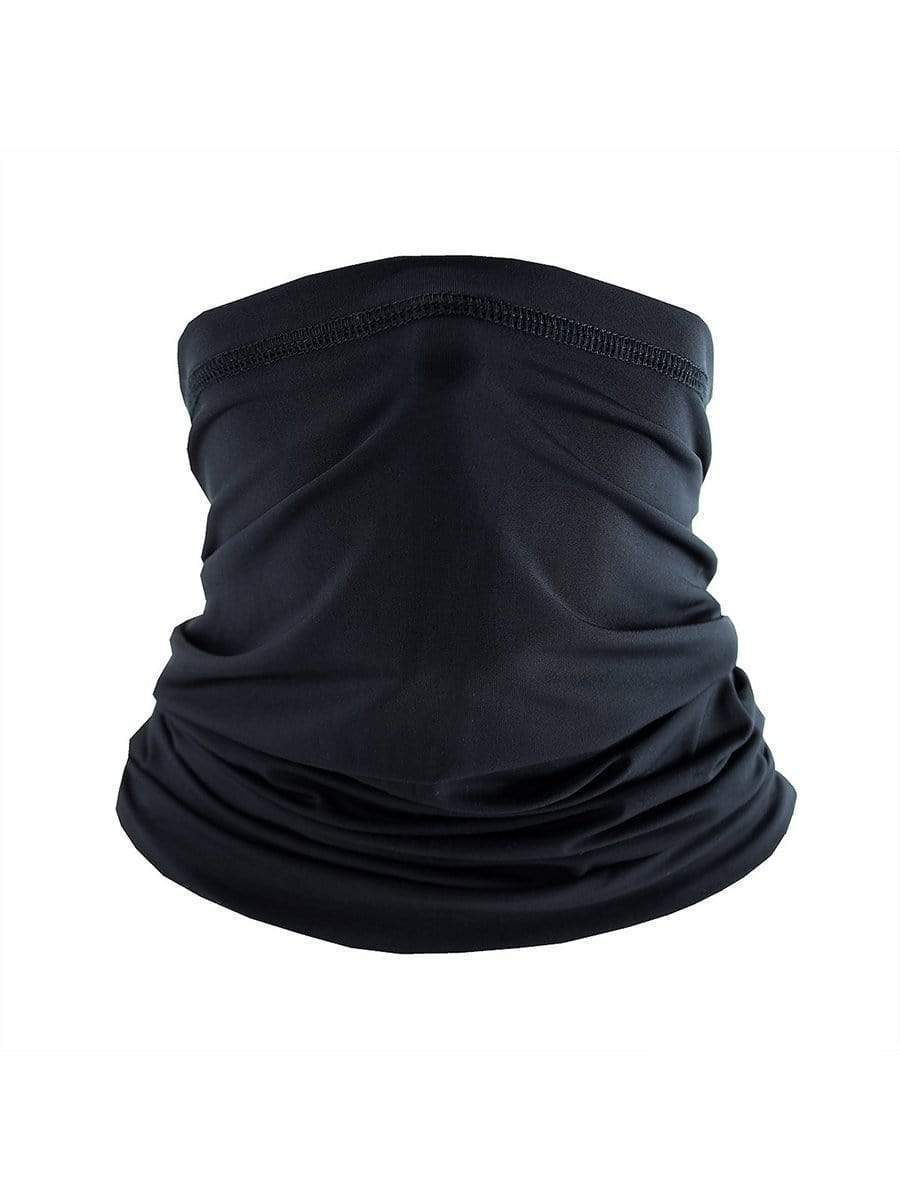 Color=Black | Breathable Anti-Sweat Sun Protection Face Neck Gaiter-Black 1