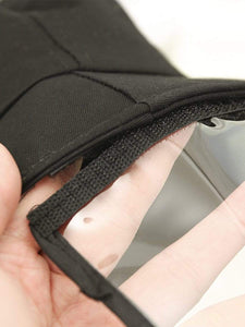 Color=Black | Anti--Saliva Spring And Summer Removable Sunshade Protective Hat-Black 3