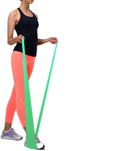 Color=Green | Thick Wide Non-Slip Resistance Bands For Women/Men-Green 3